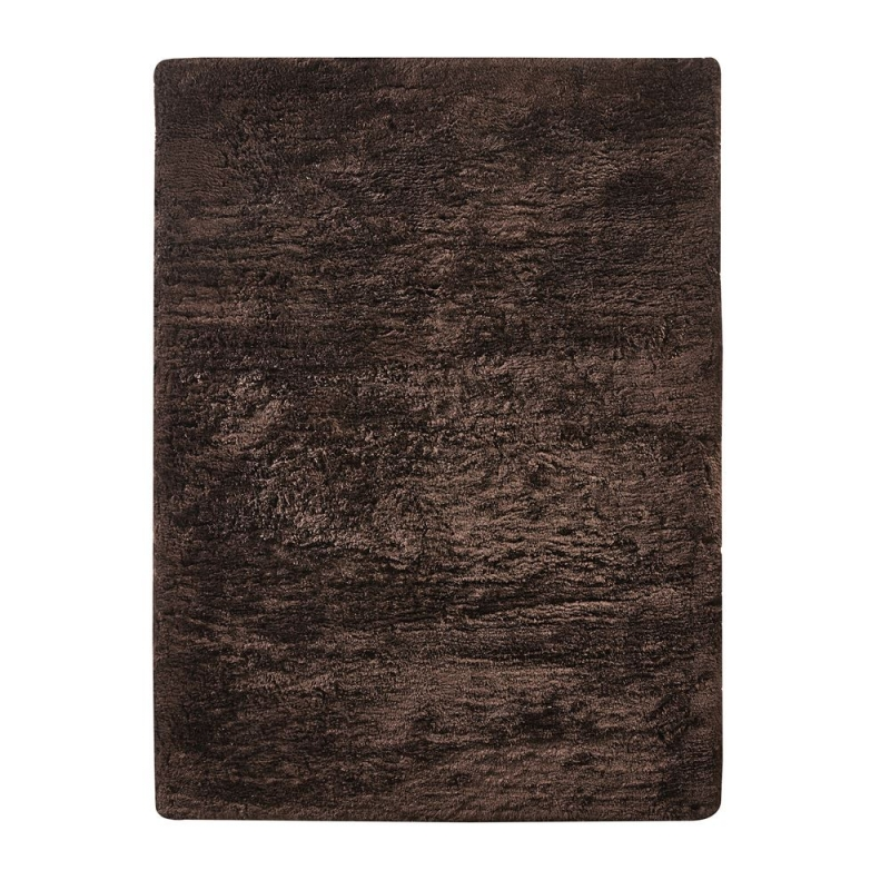 tapis shaggy vision marron home spirit 170x230. Black Bedroom Furniture Sets. Home Design Ideas