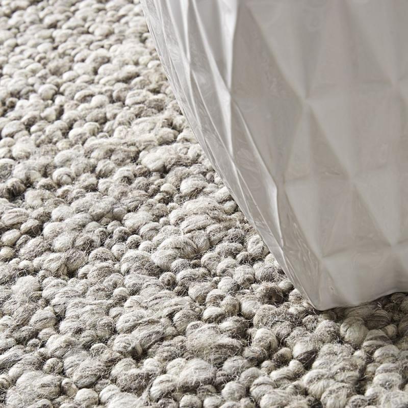 tapis en laine gris cru home spirit stone 200x300. Black Bedroom Furniture Sets. Home Design Ideas