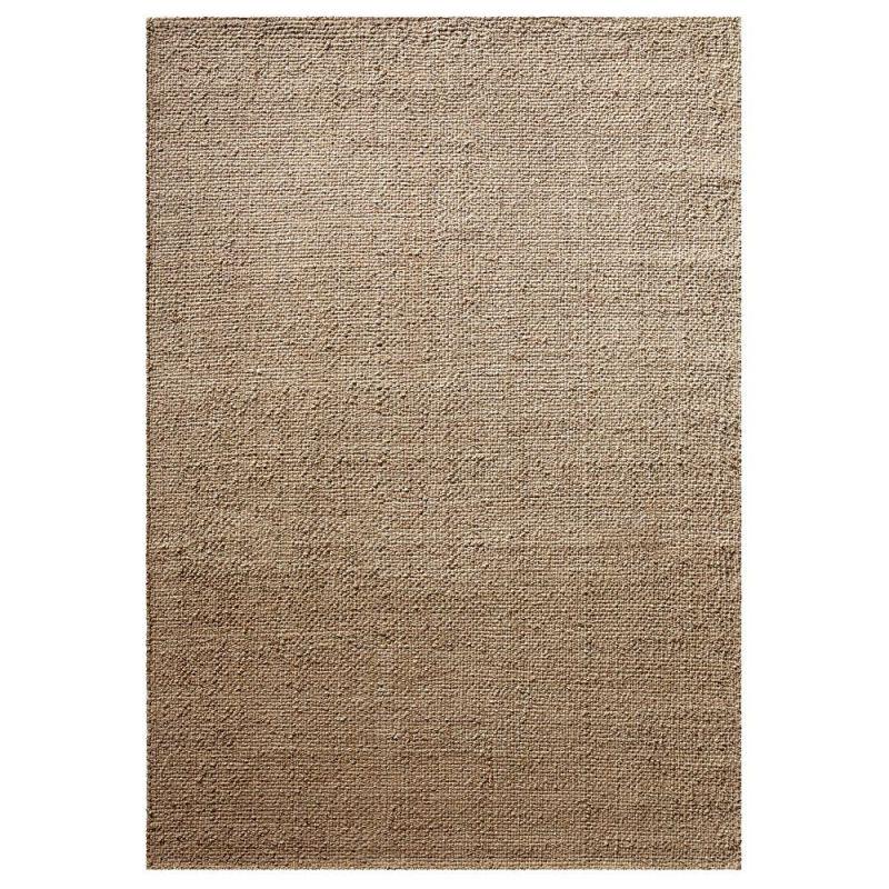 tapis moderne robust beige sable down to earth 160x230. Black Bedroom Furniture Sets. Home Design Ideas