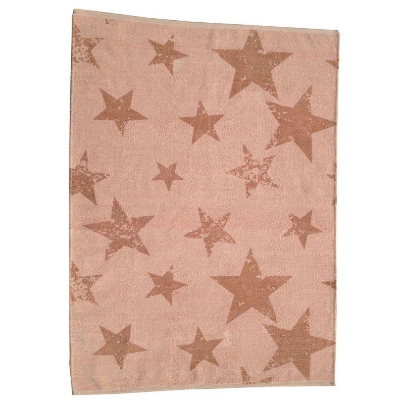 tapis enfant r versible vintage star orange lorena canals 120x160. Black Bedroom Furniture Sets. Home Design Ideas