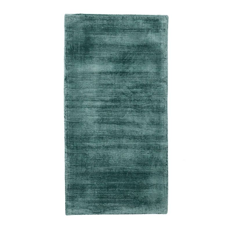 tapis moderne essentials vintage silky bleu trinity cr ations 70 x 140. Black Bedroom Furniture Sets. Home Design Ideas