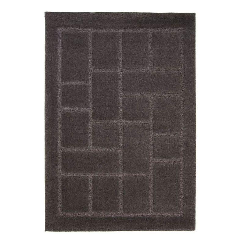 tapis moderne gris 4304 flair rugs 80x150. Black Bedroom Furniture Sets. Home Design Ideas