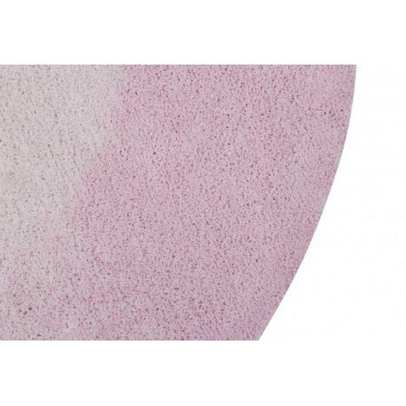tapis lavable tie dye rose 150x150 lorena canals 150x150. Black Bedroom Furniture Sets. Home Design Ideas