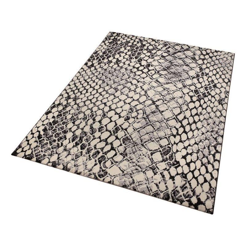 tapis moderne snake beige wecon 80x150. Black Bedroom Furniture Sets. Home Design Ideas