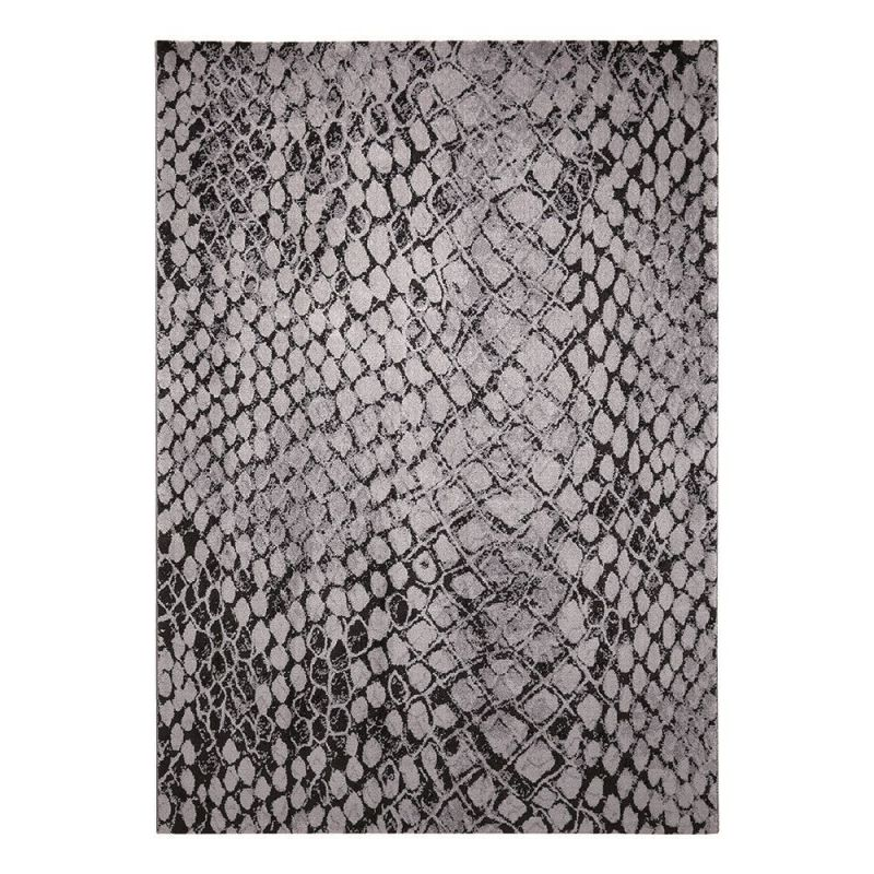 tapis wecon moderne snake gris 133x200. Black Bedroom Furniture Sets. Home Design Ideas