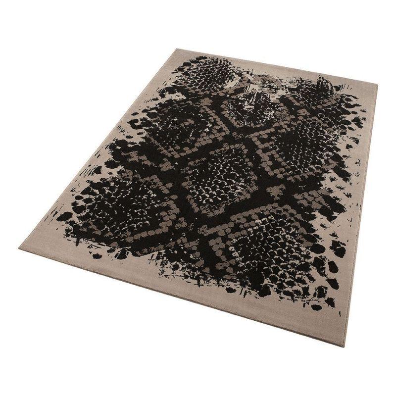 tapis wecon moderne python beige 160x225. Black Bedroom Furniture Sets. Home Design Ideas