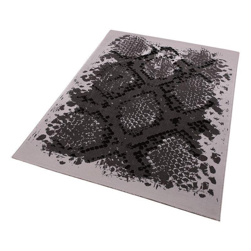tapis moderne python gris wecon 80x150. Black Bedroom Furniture Sets. Home Design Ideas