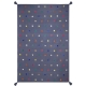 tapis multicolore enfant etoiles art for kids
