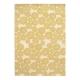 tapis blooming flowers jaune edito paris