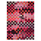 tapis pixel moderne rose esprit home