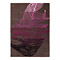 tapis feather moderne taupe et rose esprit home