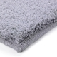 tapis shaggy corn carpet gris esprit home