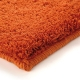 tapis shaggy corn carpet orange esprit home
