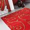 tapis fedora rouge carving