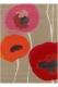 tapis poppies red sanderson - avalnico