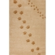 tapis enfant empreintes beige art for kids