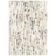tapis en cuir blanc angelo star