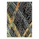tapis en laine gris criss cross arte espina