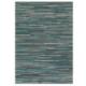 tapis en cuir bleu pioneer arte espina