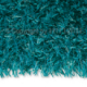 tapis shaggy beat turquoise arte espina tufté main