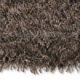 tapis shaggy beat marron arte espina tufté main