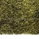 tapis arte espina shaggy soul vert