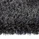 tapis arte espina shaggy swing gris foncé