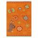 tapis pour enfant kids orange arte espina