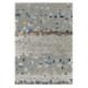 tapis mosaic gris arte espina en laine et viscose