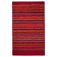 tapis de bain esprit home cool stripes rouge