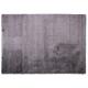 tapis shaggy fait main brooklyn gris