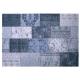 tapis new vintage bleu