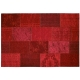 tapis new vintage rouge