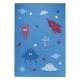 tapis little astronauts bleu esprit home