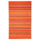 tapis de bain esprit home cool stripes orange