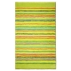 tapis de bain cool stripes vert esprit home