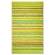 tapis de bain cool stripes vert esprit home