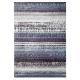 tapis graphic edge bleu esprit home