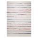 tapis joyful stripes esprit home blanc et bleu