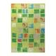 tapis cuadros vert esprit home
