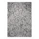 tapis madison gris motif floral esprit home