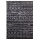 tapis gris anthracite contemporary kelim esprit home