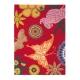 tapis xian butterfly fuchsia brink & campman tufté main
