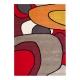 tapis xian comic rouge brink & campman tufté main