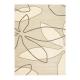 tapis xian leaf beige brink & campman tufté main