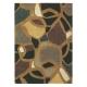 tapis xian mosaic marron brink & campman tufté main