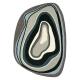 tapis design xian slice gris brink & campman tufté main